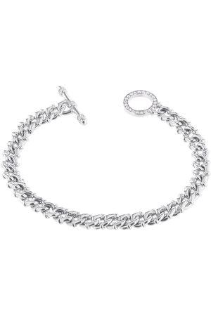 CARBON & HYDE Women Bracelets - Linked Bracelet - White Gold