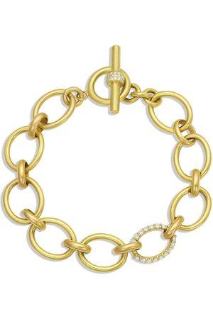 LEIGH MAXWELL Large Diamond Link Bracelet