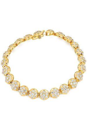 CARBON & HYDE Crown Tennis Bracelet - Yellow