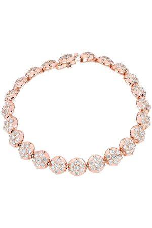 CARBON & HYDE Women Bracelets - Crown Tennis Bracelet - Rose Gold