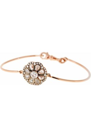 SELIM MOUZANNAR Diamond Flower Bracelet