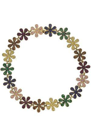 Sydney Evan Rainbow Daisy Eternity Bracelet
