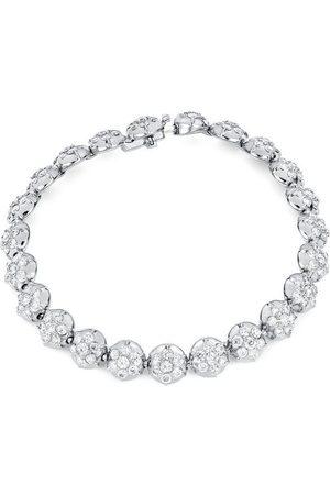 CARBON & HYDE Crown Tennis Bracelet - White Gold