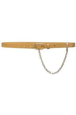 Frame Caramel Le Petit Oval Chain Belt