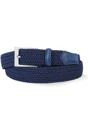 Robert Charles Men Belts - 1003 Navy Woven Elastic Belt