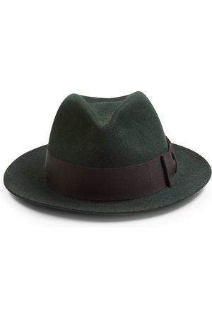 Christy's Hats Christys' Bond Fur Trilby Hat - Moss
