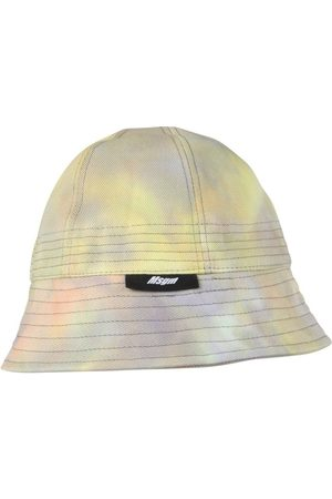 Msgm MEN'S 3040ML02A21707203 MULTICOLOR OTHER MATERIALS HAT
