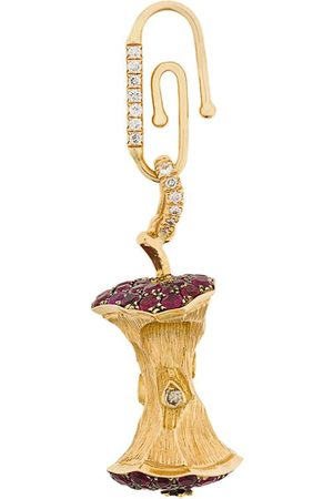 Aurélie Bidermann 18kt gold Big Apple pendant