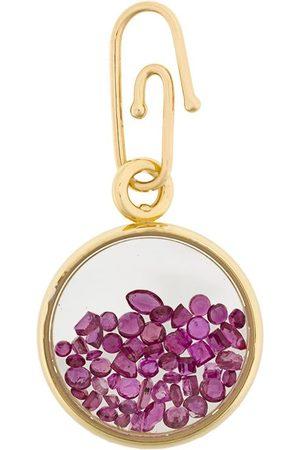 Aurélie Bidermann 18kt gold ruby Chivor medallion