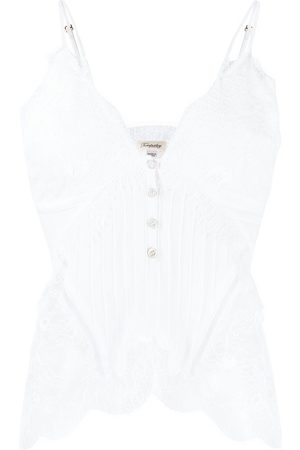 Temperley London Dreaming lace-detail top