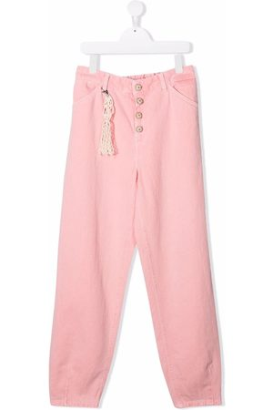 DONDUP KIDS TEEN high-rise slouchy jeans
