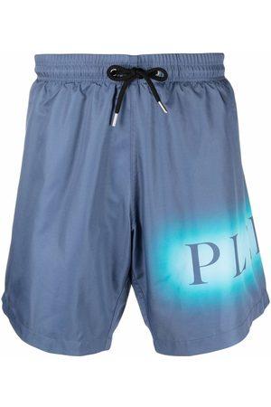 Philipp Plein Logo-print swimming shorts