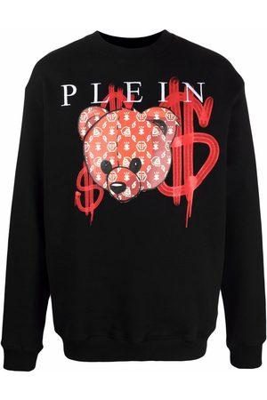 Philipp Plein Teddy bear-print sweatshirt