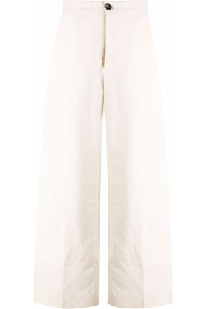 Colville Wide-leg flared trousers - Neutrals