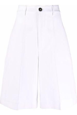 Ami Women Shorts - Pleat detailing tailored shorts