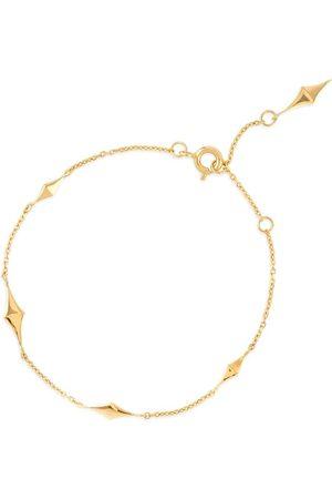 Dinny Hall 22kt yellow -plated Almaz charm bracelet