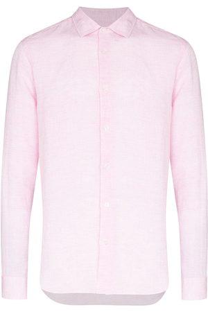 Orlebar Brown Men Long sleeves - Giles long sleeve shirt