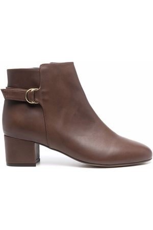 Tila March Women Ankle Boots - Nordic buckled ankle boots