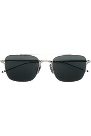 Thom Browne Sunglasses - TB120 aviator-frame sunglasses