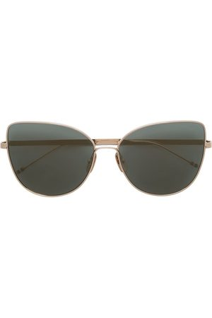 Thom Browne Sunglasses - TB121 cat-eye frame sunglasses