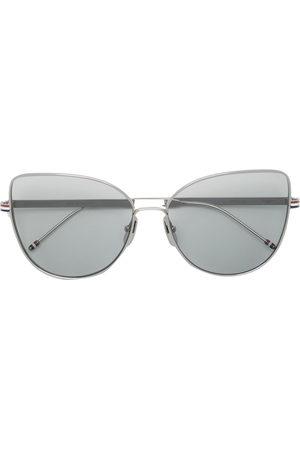Thom Browne Sunglasses - TB121 cat-frame sunglasses