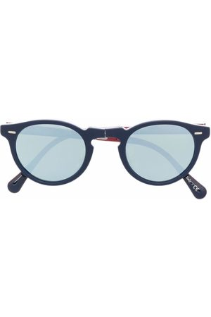 Oliver Peoples Gregory Peck round sunglasses