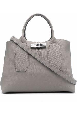 Longchamp Women Handbags - Roseau leather tote bag