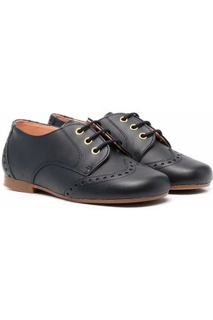 CLARYS Embossed derby shoes