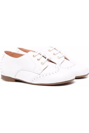 CLARYS Boys Brogues - Embossed derby shoes