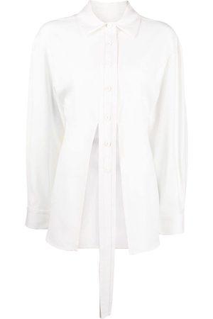 CHRISTOPHER ESBER Tie-detail button-up shirt