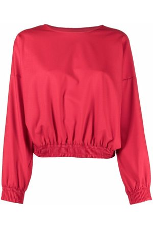 Styland Elasticated-waist sweatshirt