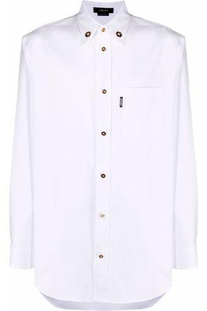 VERSACE Medusa buttons long-sleeve shirt