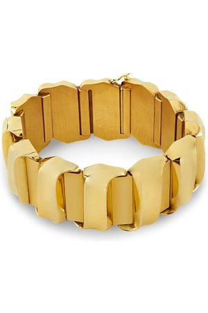 Pragnell Vintage 18kt rose gold retro Scroll bracelet