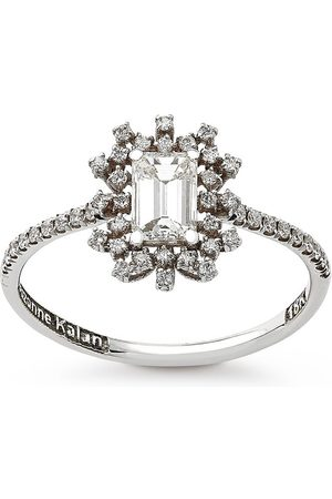 Suzanne Kalan 18kt white gold One of a Kind diamond ring