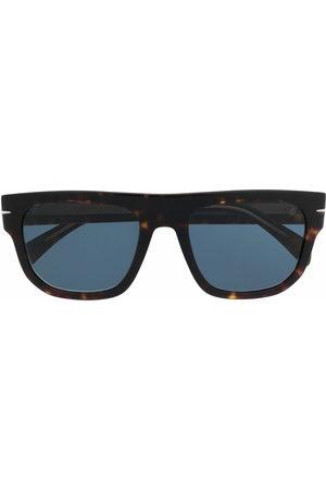 DB EYEWEAR BY DAVID BECKHAM Tortoiseshell square sunglasses
