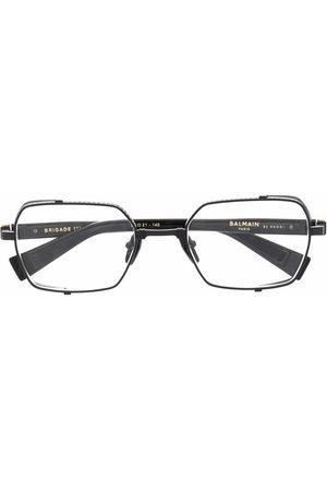 Balmain Side-panel rounded glasses