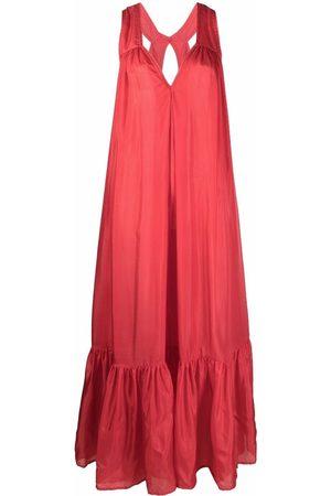 KALITA Sleeveless silk gown
