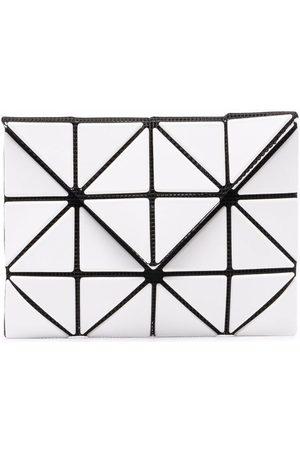 Issey Miyake Geometric-panelled bifold wallet