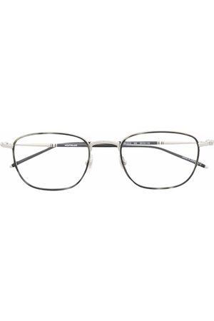 Mont Blanc Square frame glasses