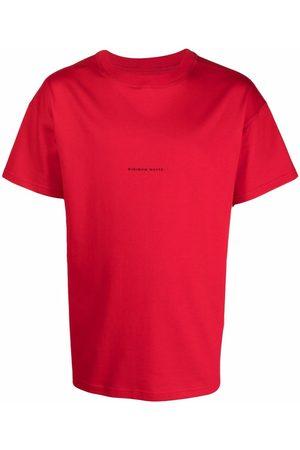 Styland Slogan-print crew neck T-shirt