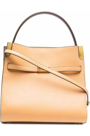 Tory Burch Lee Radziwill double tote bag