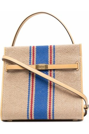 Tory Burch Lee Radziwill double tote bag - Neutrals