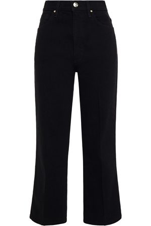 Goldsign Woman The Cropped A High-rise Straight-leg Jeans Size 23