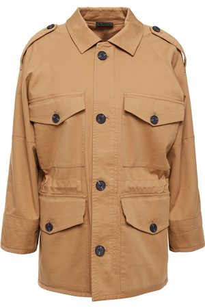 ATM Anthony Thomas Melillo Woman Stretch-cotton Twill Jacket Camel Size L
