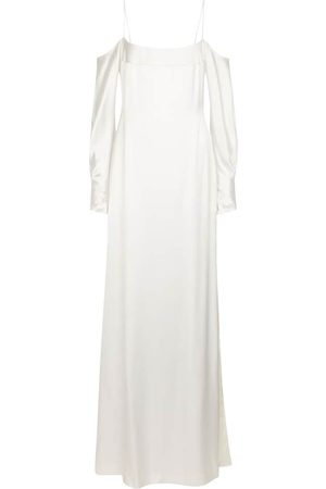 GALVAN Exclusive to Mytheresa – Bridal Valencia silk satin gown