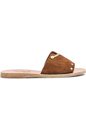 Ancient Greek Sandals Siriti Kalomira Slide in . Size 37, 38, 39, 40, 41.