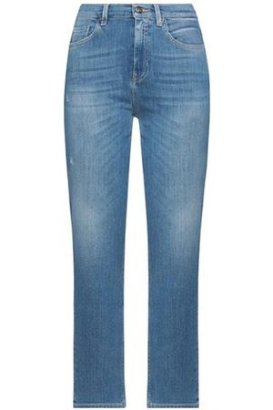 KAOS JEANS Women Trousers - DENIM - Denim trousers