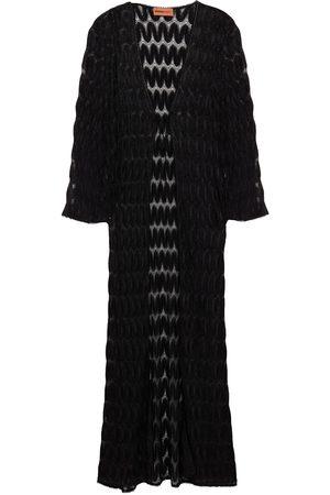 Missoni Woman Metallic Crochet-knit Coverup Size 38