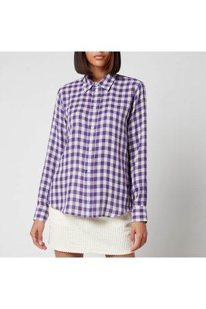 Ami Women's Classic Gingham Shirt