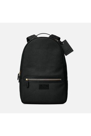 Polo Ralph Lauren Men's Leather-Trim Canvas Backpack